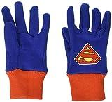 MidWest Quality Gloves SFS102T-T-AZ-6 Super Friends Super Man Cotton Jersey Glove, Toddler, Multicolor