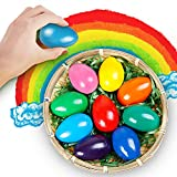Crayons Toddlers, 9 Colors Egg Crayons Palm Grasp Crayons for Kids Non Toxic Paint Washable Crayons Baby,Children,Boys Girls