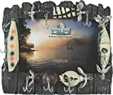 Rivers Edge Fishing Lure Picture Frame - Holds 4' X 6' Photo