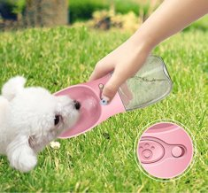 MMKPET-Dog-Water-Bottle-for-WalkingFashion-Antibacterial-Portable-Pet-Travel-Water-Drink-Cup-with-Bowl-DispenserLeak-ProofPortableFast-and-Easy-Food-Grade-Silicone-BPA-Free