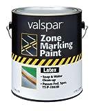 Valspar 24-136G Yellow Latex Zone Marking Paint - 1 Gallon