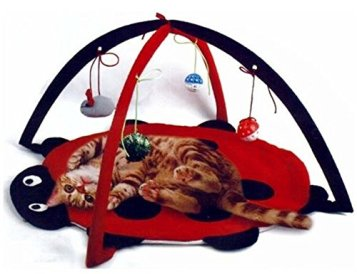 Petty-Love-House-Cat-Activity-Center-with-Hanging-Toy-Balls-Mice-More-Helps-Cats-Get-Exercise-Stay-Active-Best-Cat-Toys-on-Amazon