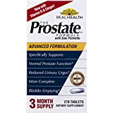 Real Health The Prostate Formula with Saw Palmetto, 270 Tablets