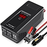 POTEK 750W Power Inverter 12 V DC to 110V AC Car Adapter with Two USB and AC Charging Ports for Laptop,Tablet, Smartphone,Camera and More