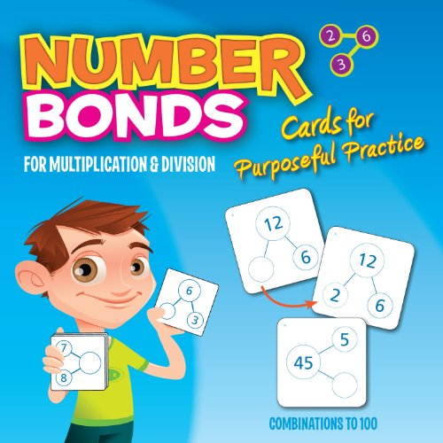 Number-Bond Cards for Multiplication and Division - Singapore Math (Crystal Springs Books)