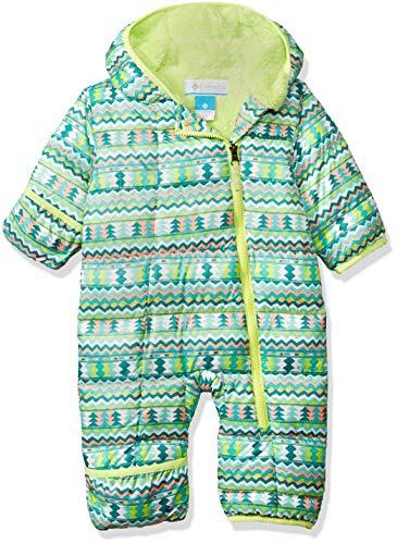 Columbia Unisex Baby Infant Frosty Freeze Bunting, Tippet Zigzag Print, 12/18