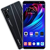 Android 9.1 Unlocked Smartphone - 6.3' Eight Core Ultrathin 3G Call Mobile Phone,1GB RAM+16GB ROM Dual SIM/Camera Cellphone (Black)