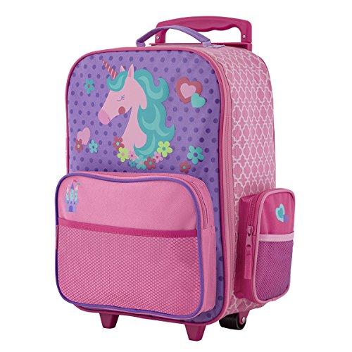 Stephen Joseph Girls' Little Classic Rolling Luggage, Unicorn, One Size
