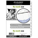 AT-A-GLANCE 2019 Monthly Planner Refill, Day Runner, 5-1/2' x 8-1/2', Desk Size 4, Loose Leaf (061-685Y)