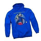 Punch -- CW's Supergirl TV Show Adult Hoodie Sweatshirt