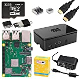 CanaKit Raspberry Pi 3 B+ (B Plus) Starter Kit (32 GB, Premium Black Case)