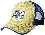 Bud Light Men's Cotton Twill Baseball Cap, Royal, One Size