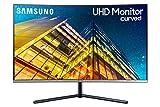 Samsung U32R590 Curved UHD 4K Monitor (LU32R590CWNXZA), Dark Blue Gray