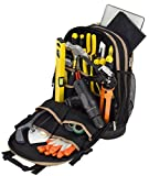 Jackson Palmer Professional Tool Backpack, Comfort-Design with Optimized Pockets (Carpenters Tool...