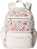 Betsey Johnson Women's Convertible Backpack Diaper Bag Cream Multi One Size