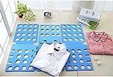 V1 Tshirt Folding Board t Shirt Folder Clothes flip fold Plastic flipfold Laundry Room Organizer