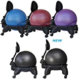 Isokinetics Inc. Adjustable Back Exercise Ball Office Chair - Standard or (Exclusive)