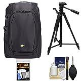 Case Logic DSB-102 Luminosity Digital SLR Camera Backpack Case (Black) with Tripod + Accessory Kit