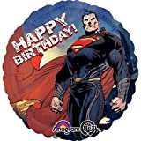 "Superman 18"" Happy Birthday Mylar Balloon Pkg/1"