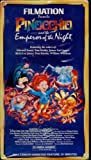 Pinocchio & The Emperor of the Night [VHS]