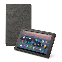 All-New Amazon Fire HD 10 Tablet Case (7th Generation, 2017 Release), Charcoal Black