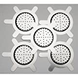 Texas Hookah Shisha Head Bowl Metal Screens, Lot of 5