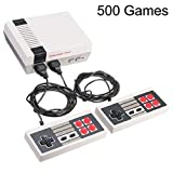 Classic Family Game Console System with Built-in 500 TV Video Games
