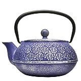 Primula Cast Iron Teapot | Blue...