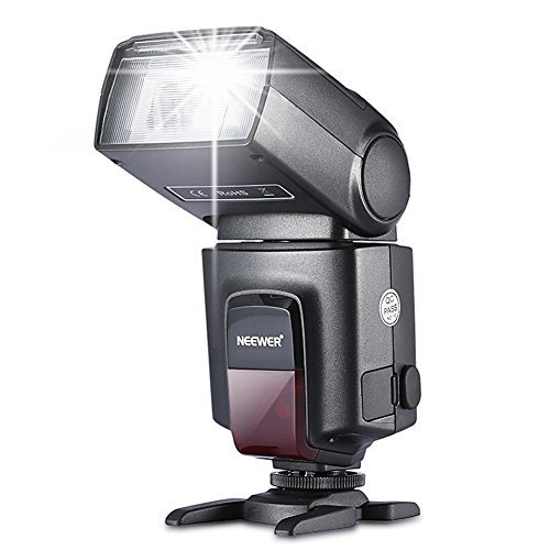 Neewer TT560 Flash Speedlite for Canon Nikon Panasonic Olympus Pentax and Other DSLR Cameras
