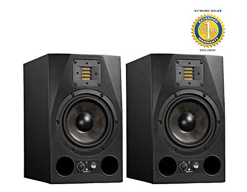 Adam Audio A7X 7' 150W Active 2-Way Studio Monitor (Pair) with 1 Year Free Extended Warranty