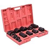 MILLION PARTS 14Pcs Master Ball Joint Remover Installer Adaptors Repair Tool Kit Receiving Tube