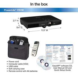 Epson-PowerLite-1781W-WXGA-3200-lumens-color-brightness-color-light-output-3200-lumens-white-brightness-wireless-3LCD-Portable-Projector