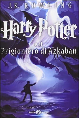 Harry Potter e io progioniero di Azkaban Book Cover