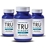 TRU NIAGEN (Nicotinamide Riboside) | Advanced NAD+ Booster | Vitamin B3 | Next-Level Cellular Energy & Repair | 300mg / 2 Capsules | 60 Vegetarian Capsules Per Bottle.