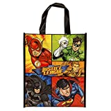 "Large Plastic Justice League Goodie Bag, 13"" x 11"""