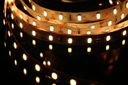 MARSWALL-LED-Strip-CRI-RA-95-SMD5630-164Ft5M-300LEDs-60LEDsM-DC12V-10mm-White-PCB-Flexible-Ribbon-Strip-with-Adhesive-Tape-Non-Waterproof-Warm-White-3000K