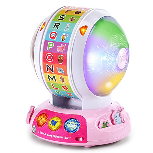 LeapFrog Spin and Sing Alphabet Zoo - Pink - Online Exclusive