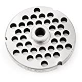 TSM #32 Stainless Steel Grinder Plate with Hub (3/8')