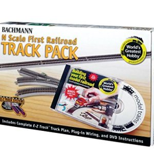 Bachmann World's Greatest Hobby Track Pack N Scale 51MNHoc5W3L