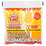 Carnival King All-In-One Popcorn Kit for 8 -10 Ounce Poppers - 24/Case