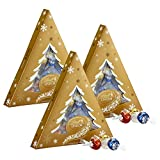 Lindor Lindt Assorted Chocolate Tree Gift Box, 3 Count