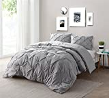 Byourbed Alloy Pin Tuck Twin XL Comforter