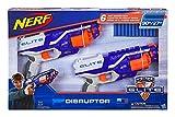 Nerf N-Strike Elite Disruptor 6 Dart Rapid Fire Nerf Gun Blaster Shoots 90 ft! (Twin Pack)
