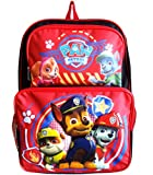 Paw Patrol 16' Cargo School Backpack Bag with Zipper Pocket - Chase, Marshall, Skye, Rocky, Rubble