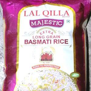 Lal Qilla Majestic Basmati Rice In 5Kg Pack Buy Online in India