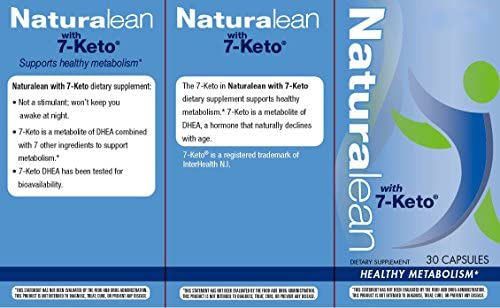 Enzymatic Therapy Naturalean with 7-Keto, Healthy Metabolism, 30 Count 7