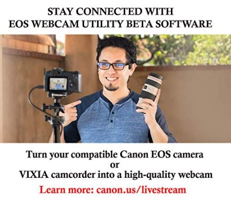 Canon-Mirrorless-Camera-EOS-M6-Mark-II-Body-for-VloggingCMOS-APS-C-Sensor-Dual-Pixel-CMOS-Auto-Focus-Wi-Fi-Bluetooth-and-4K-Video-Black