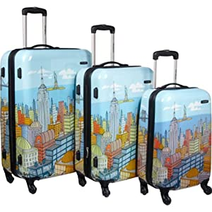 Samsonite Luggage NYC Cityscapes Spinners