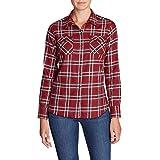 Product review of Eddie Bauer Women's Stine's Favorite Flannel Shirt - Plaid Plus