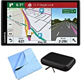Garmin RV 770 NA LMT-S RV GPS Navigator for Camping Enthusiast w/ Hardshell Case Bundle includes PocketPro XL Hardshell Case and Cleaning Cloth
